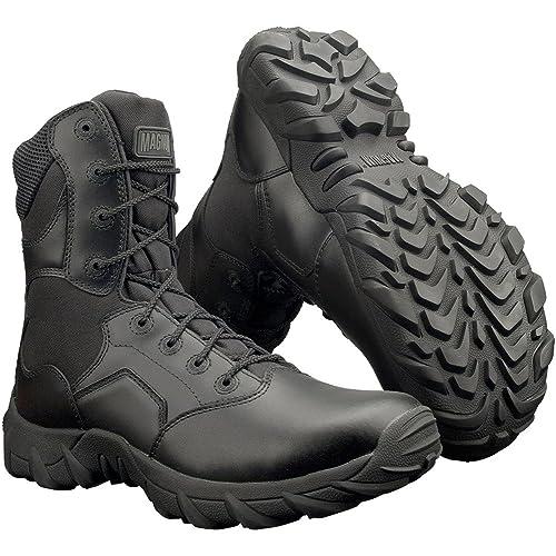 Magnum Cobra 8.0 CT - Botas de cuero para hombre negro negro, color negro,