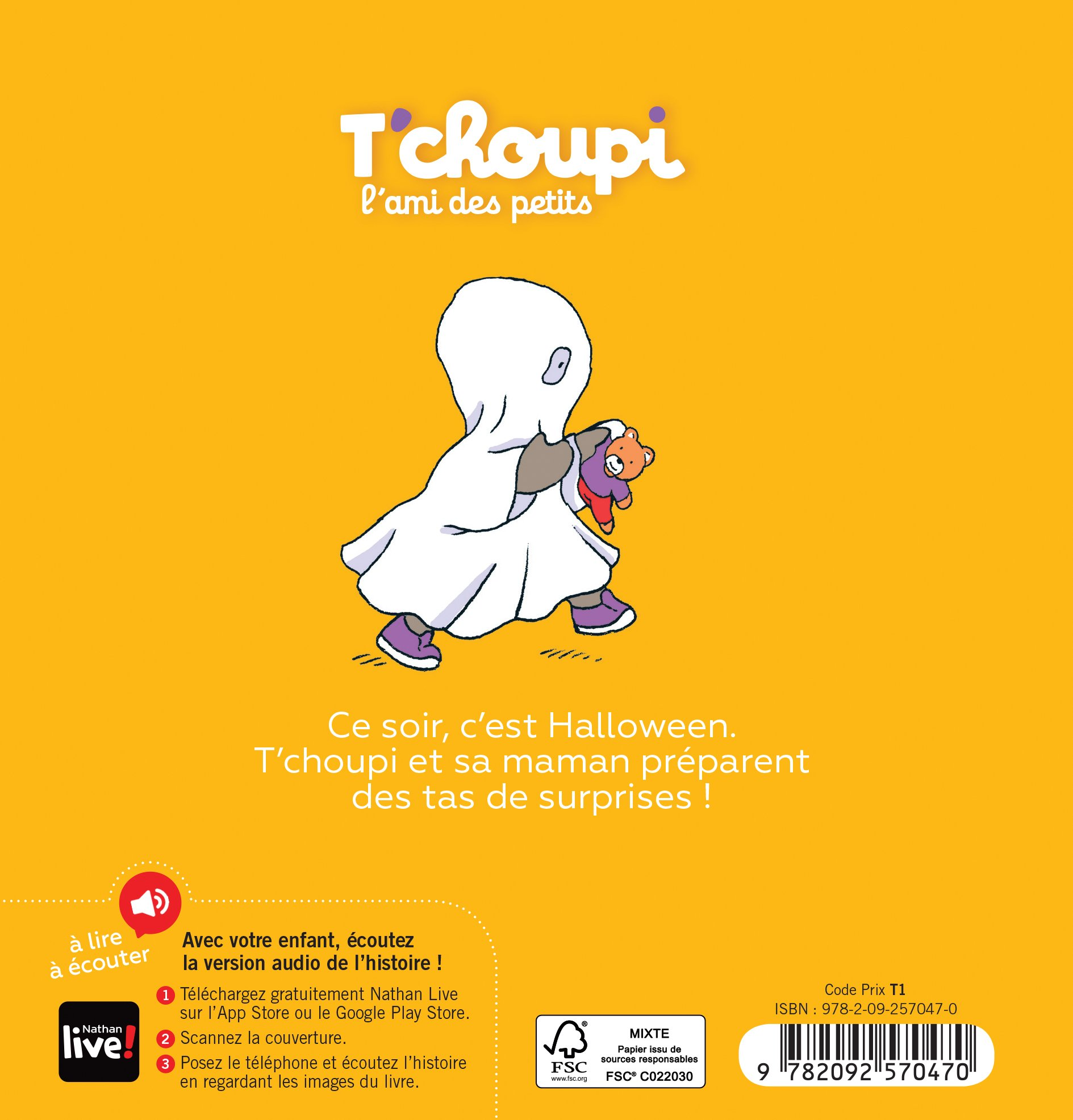 T Choupi T Choupi Fete Halloween 9782092570470 Amazon Com
