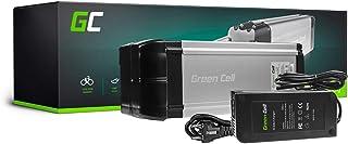 GC® EBIKE Batteria 36V 8.8Ah Bicicletta Elettrica Rear Rack con Celle Panasonic Li-Ion e Caricabatterie Townie Klever Greenway