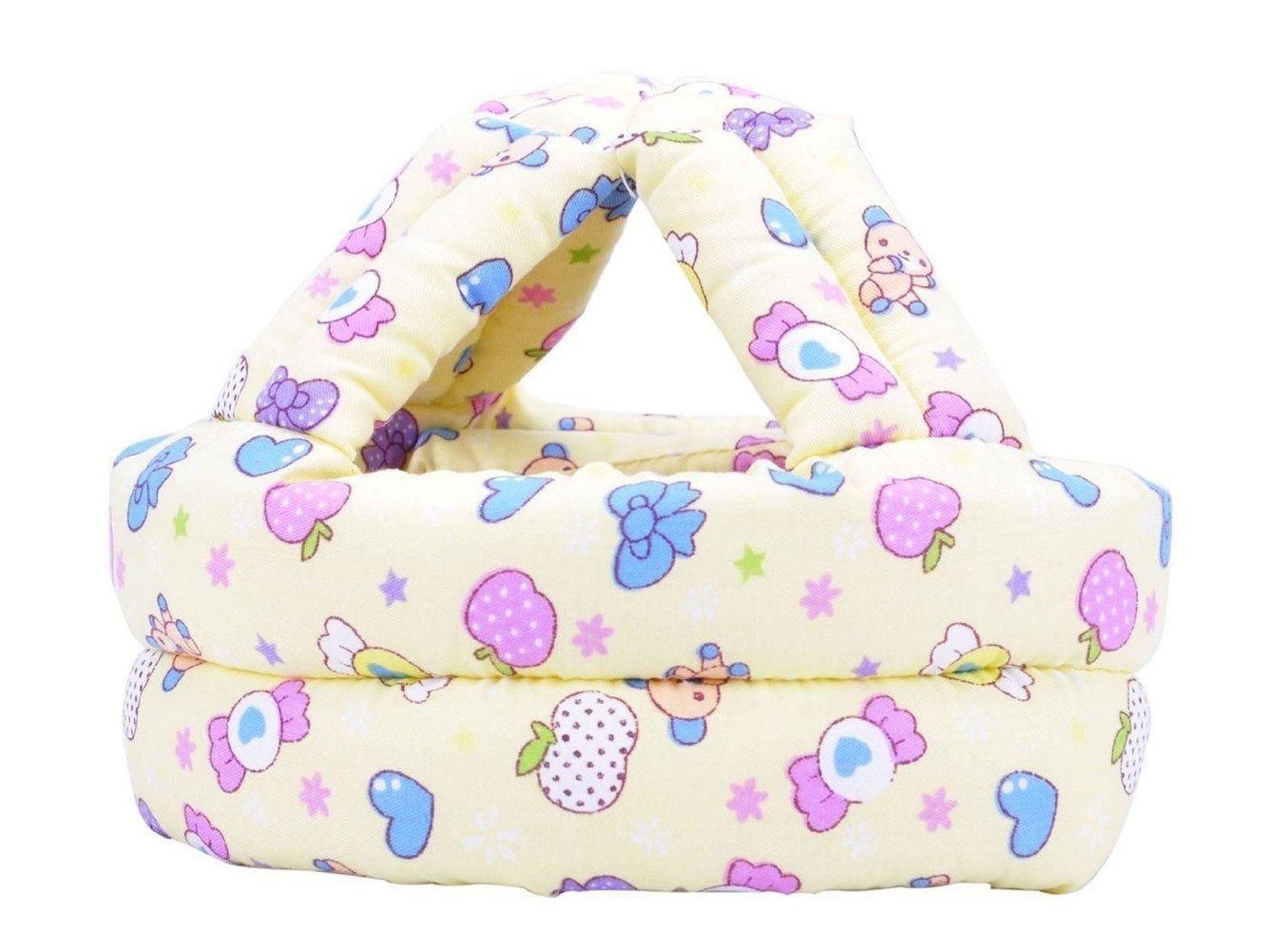 TININNA Casque Chapeau Sécurité Bébé Casque de Protection Mou Bébé Sécurité Domestique Anti Choc Douce Confortable #1