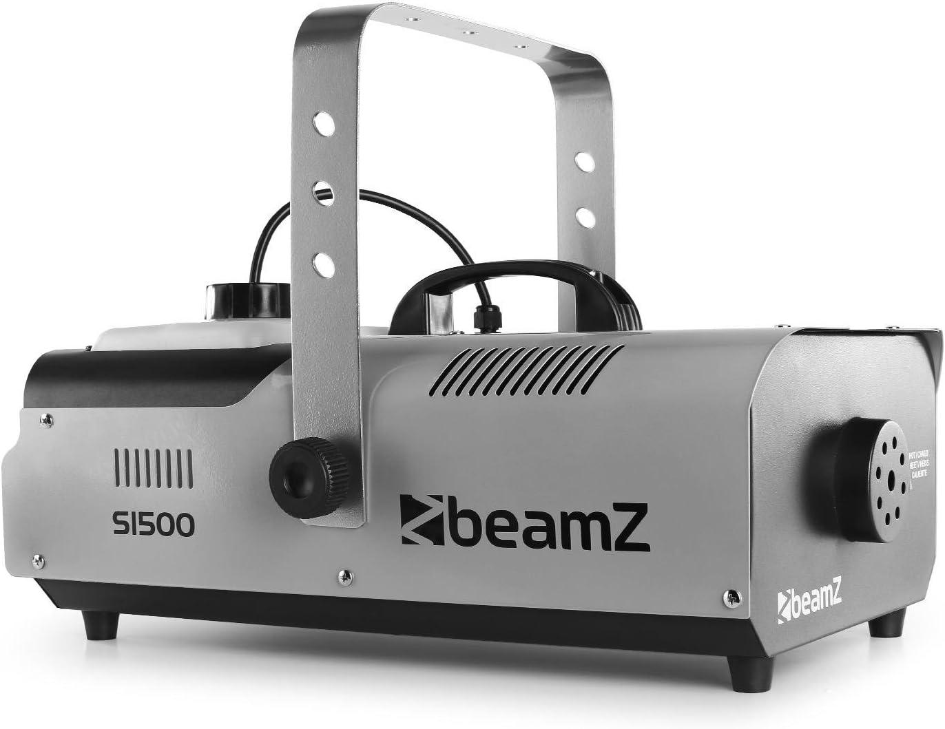 Beamz S1500 Máquina de Niebla Artificial 1500W DMX