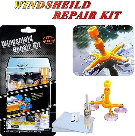 Manelord Auto Windschutzscheiben Reparaturset Werkzeug Windshield Repair Kit Auto