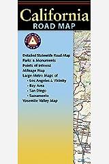 California Road Map (Benchmark Maps) Map