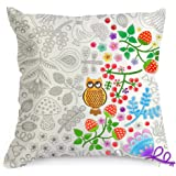 Amazon.com: Doodle Pillowcase, Color Your Own Pillow Case, Coloring ...