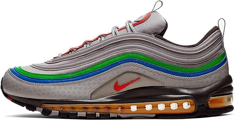 Amazon.com: Nike Air Max 97 Qs Hombres Ci5012-001, Gris ...