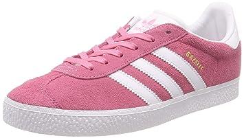 adidas Gazelle J, Zapatillas de Deporte Unisex Niñas, Rosa (Rossen/Ftwbla/
