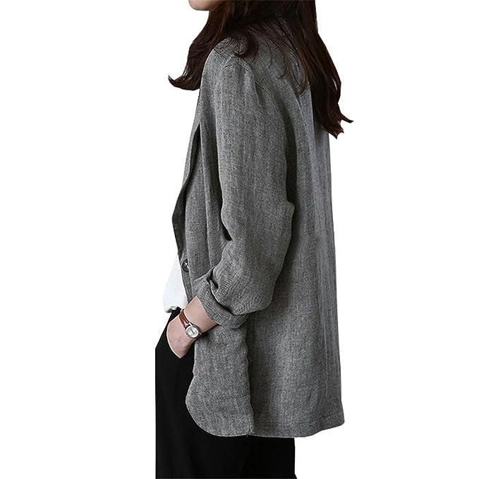 Amazon.com: David salc nuevo otoño mujer chaquetas y ...