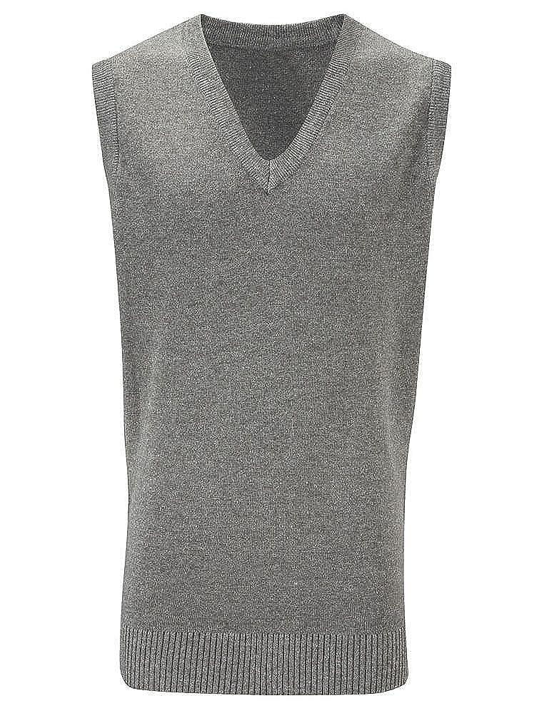 Blue Max Kids School Uniform Sleeveless Jumper 50//50 Slipover Cardigan Sweater