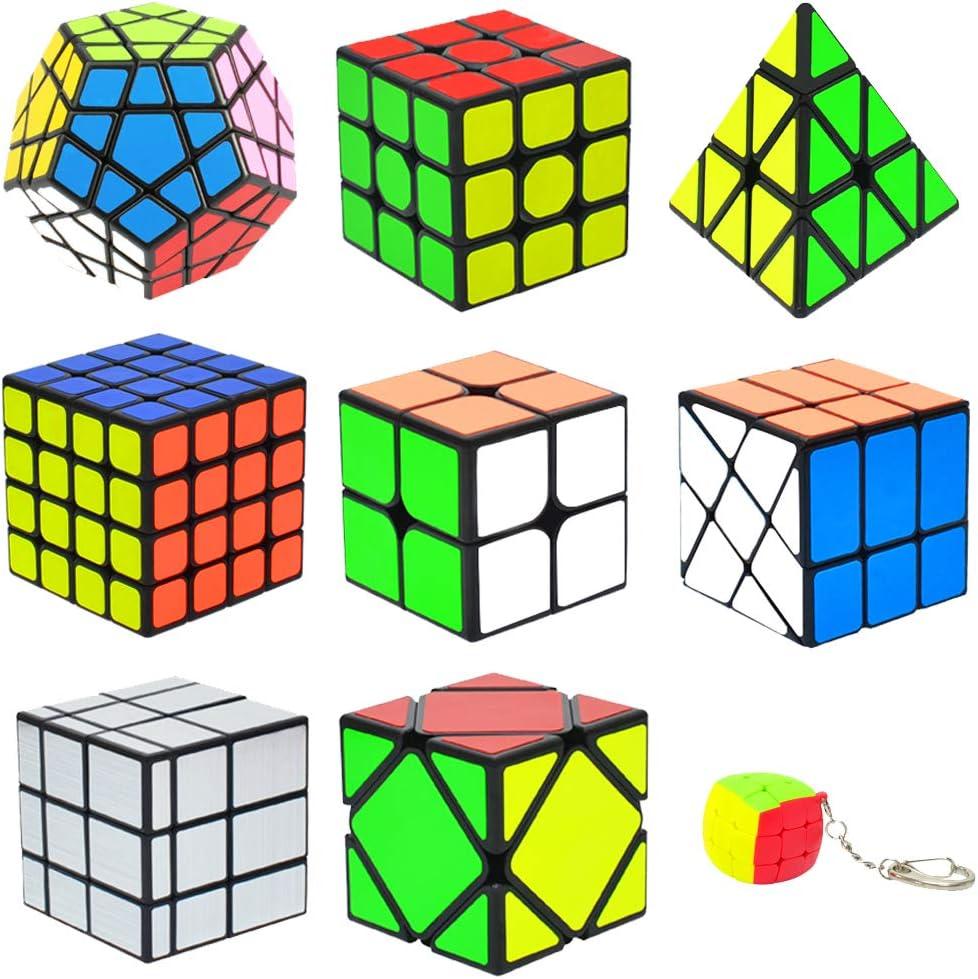 Amazon.com: Coolzon Juego de cubos de velocidad, juego de ...