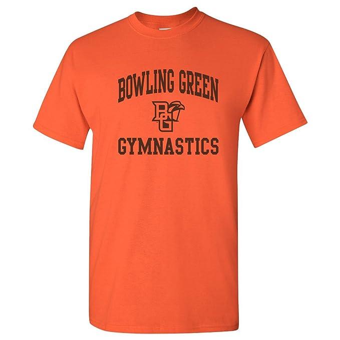 b2e30aa0 Amazon.com: NCAA Arch Logo Gymnastics, Team Color T Shirt, College ...