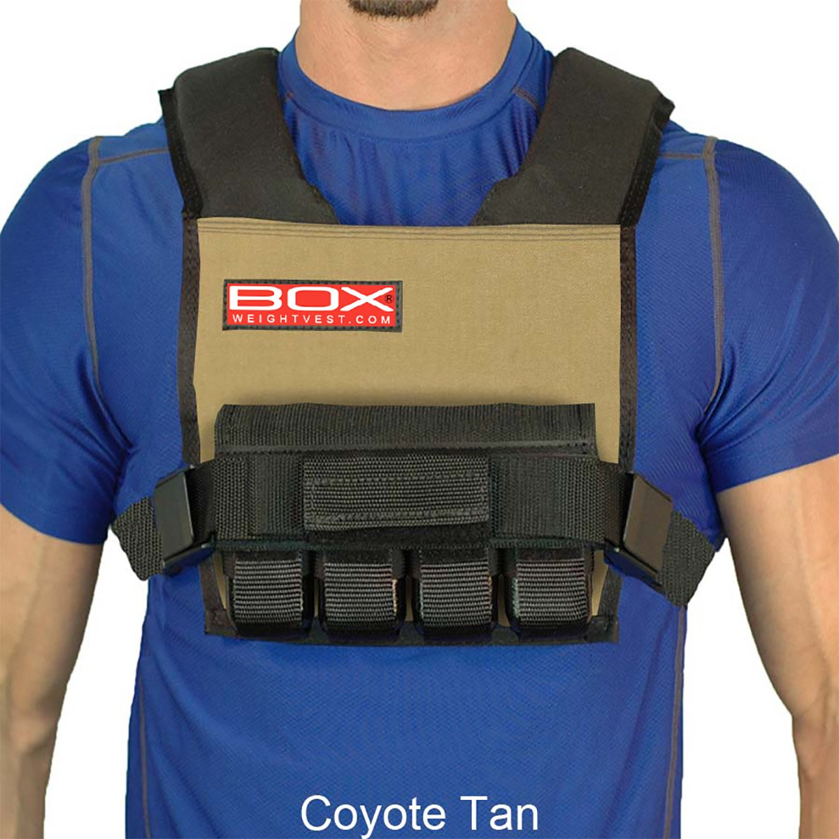20 Lb. BOX Super Short - Vest (Coyote Tan)