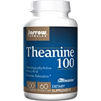 Jarrow Formulas Theanine, Promotes Relaxation, 100 mg, 60 Count