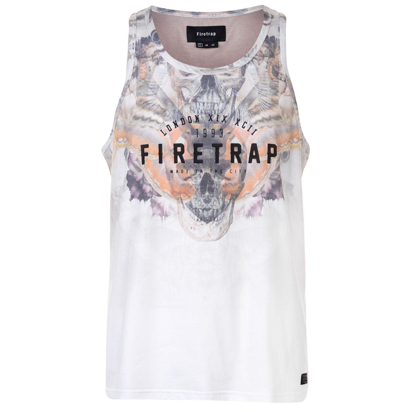 Firetrap Mens Sublimation Vest