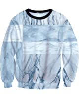 Pizoff Unisex Hip Hop Funny 3D Digital Printing Pullover SweatShirts