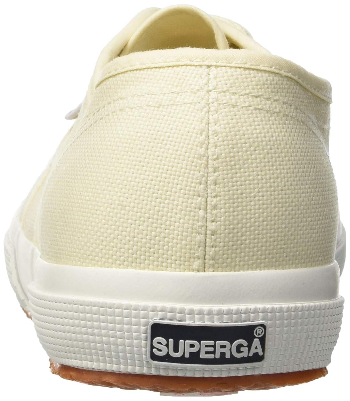 Superga Unisex Erwachsene Gelb 2750 Cotu Classic Niedrig Top, Navy Gelb Erwachsene (Ivory Sk) b563b2
