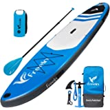 "Freein Explorer SUP Inflatable Stand Up Paddle Board 10'2''/11' Long 33"" Wide with Sport Camera Mount Package"