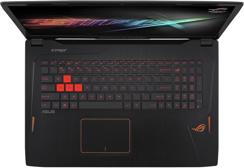 Leze Ultra Thin Soft Keyboard Protector Skin Cover for ASUS ROG G501JW GL502VY GL502VT GL502VS GL502VM G550 GL551JW GL551JM GL551JX GL552VW GL702VM GL702VS Gaming Laptop TPU