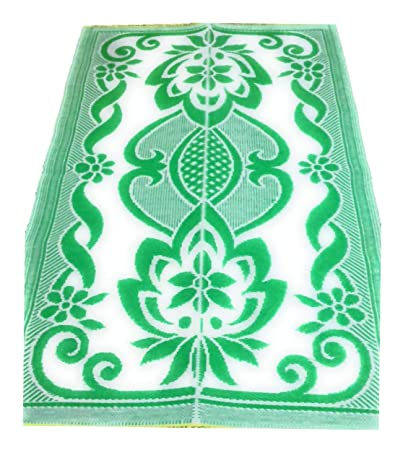Ivaan Plastic Floor Mat/Chatai (Multicolour, SE-5787)