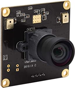 2880P USB Webcam with Microphone,13MP Ultra HD Sony IMX214 Sensor USB Camera Module,90 Dregree Widescreen Fixed Focus Lens for Industrial Embedded PC Camera,Plug and Play for Linux Mac Raspberry Pi