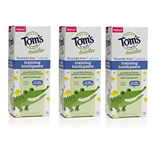 Tom's of Maine Toddlers Fluoride-Free Natural Toothpaste Review