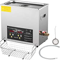 VEVOR 3L Upgraded Ultrasonic Cleaner Professional Digital Lab Ultrasonic Parts Cleaner with Heater Timer for Jewelry…