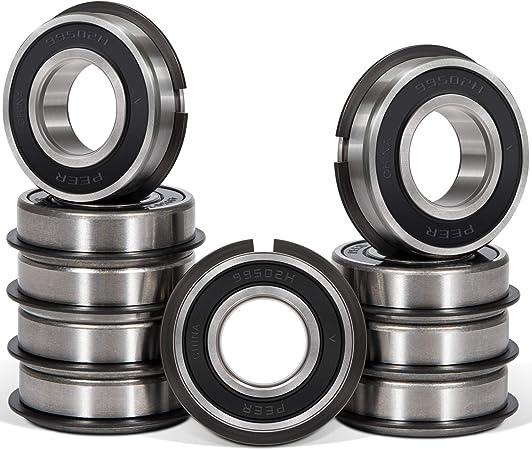 "99502HNR Bearing 5//8/"" ID X 1-3//8/"" OD 7//16/"" Width Go Kart Snap Ring Wheel 0.625"