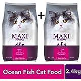 Maxi Persian Ocean Fish Cat Food, 1.2 kg (Buy 1 Get 1 Free)