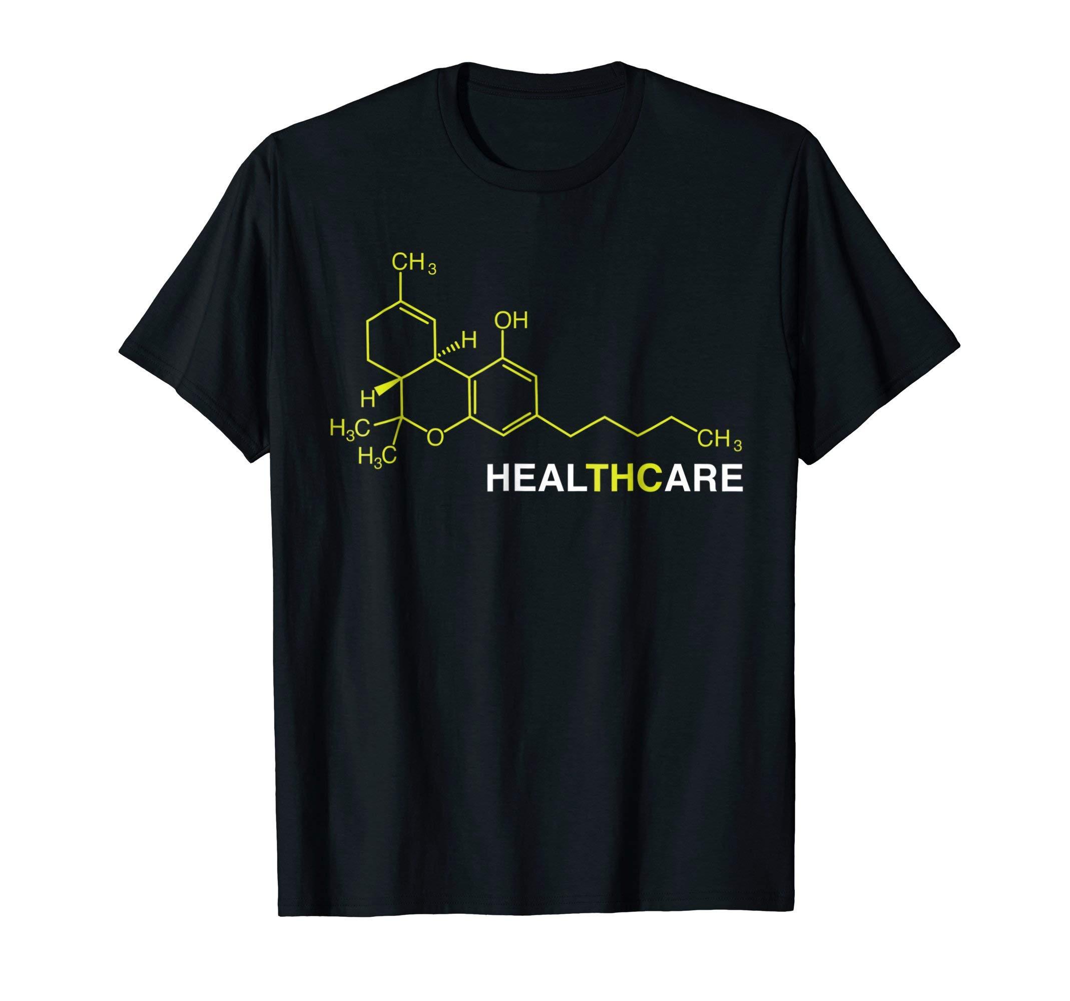 THC Healthcare Cannabis Medical Marijuana T-Shirt