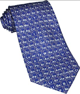 Periodic table tie tie94 science gift gifts for chemists amazon periodic table blue silk tie ts 883 urtaz Gallery