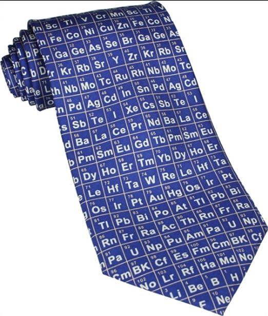 Tabla Periódica Azul Corbata De Seda (TS-883): Amazon.es: Ropa y ...