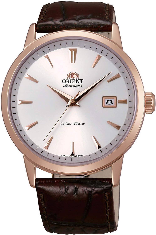 Orient Reloj Analógico para Hombre de Automático con Correa en Cuero FER27003W0