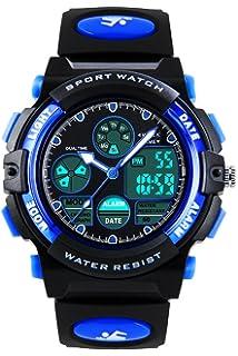 9b6b368cd4a1a1 ENFANTS Digital analogique montres pour garçons - Montre de sports de plein  air pour enfants avec