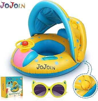 Jojoin Flotador Hinchable Bebé, Anillo de Natación para Bebé ...
