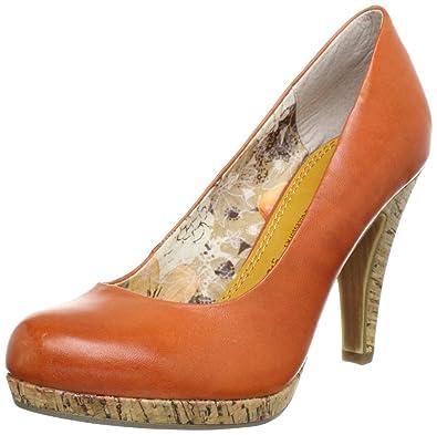 papaya Talons Marco 20 Orange Femme 22445 2 Tozzi Sq0OS6