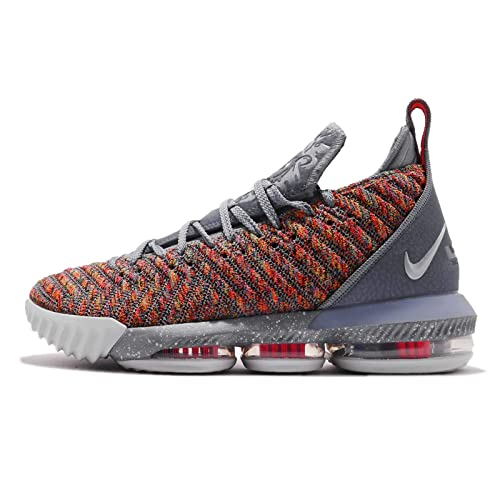 reputable site 50664 2c24d Nike Men s Lebron XVI EP, Multi-Color Metallic Silver,7 ...