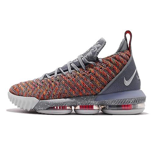reputable site 1c285 c7d1d Nike Men s Lebron XVI EP, Multi-Color Metallic Silver,7 ...