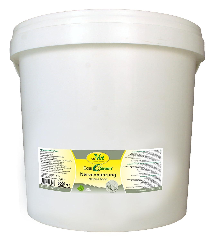 CdVet Equi verde nervi Food Cavallo, 6000 g