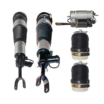 5 pieza Aire suspensión Muelle patas + Compresor Bomba 4 F0616001 4 F0616039 4 F0616040: Amazon.es: Coche y moto
