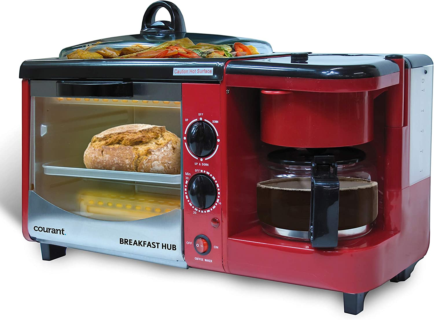 Courant: CBH-4601R 3-in-1 Multifunction Breakfast Hub