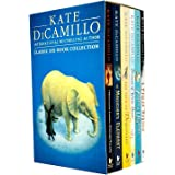 Kate Dicamillo Classic Six Books Box Collection Set (The Miraculous Journey of Edward Tulane, The Magician's Elephant, The Ta