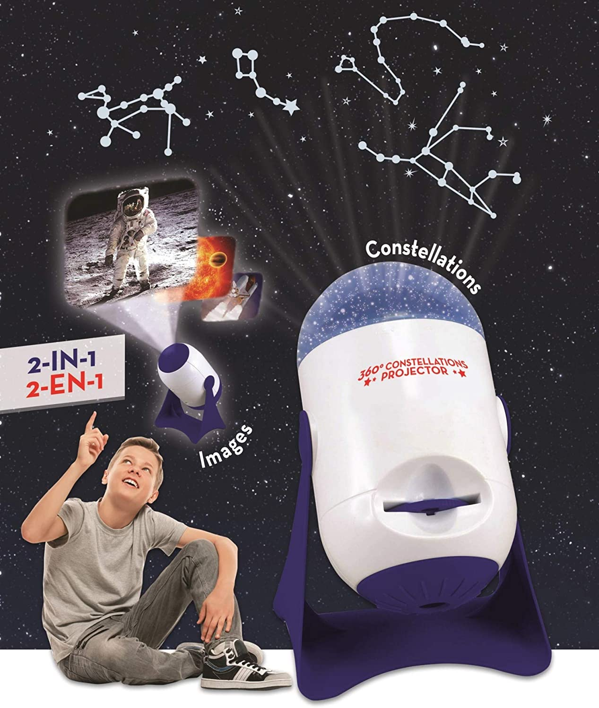 LEXIBOOK rotativo, áng Planetario, Proyector de Constelaciones e ...
