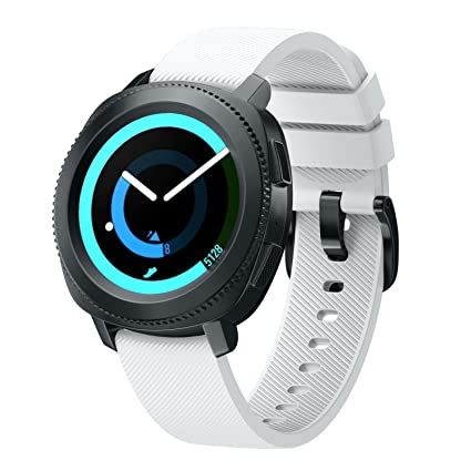 Betterconn for Gear S2 Classic / Gear Sport Watch Band, Soft Silicone Strap for Samsung Gear S2 Classic SM-R732/R735/Moto 360 2nd(Mens 42mm ...