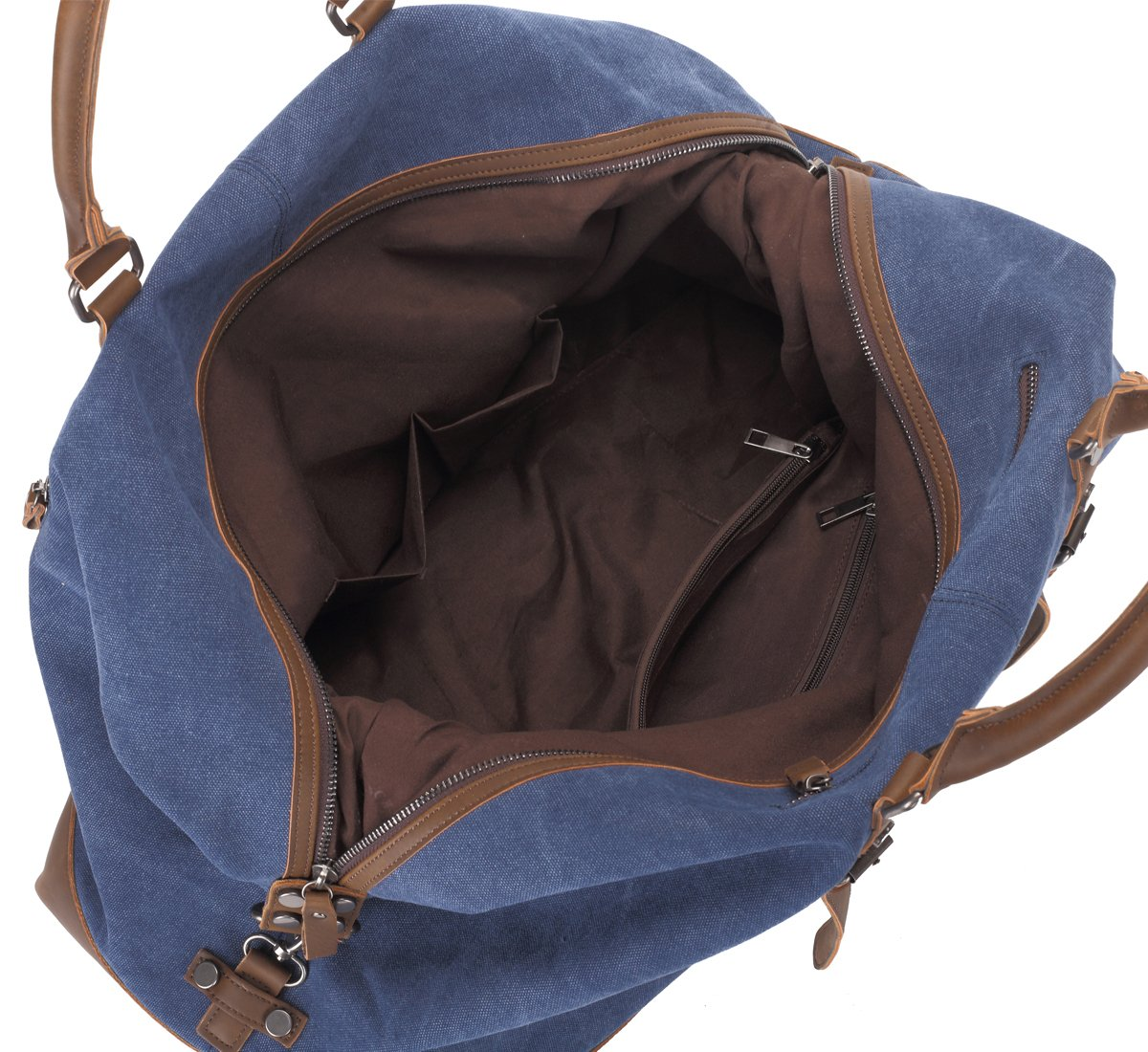 Weekend Bag Weekender Overnight Bag Canvas Vintage Travel Duffle for Men Women by UPANDFAST (Image #4)