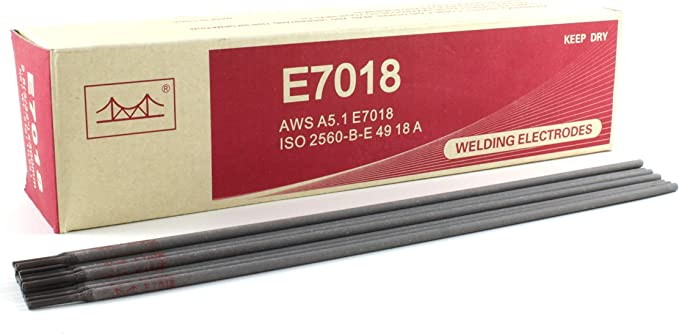 E7018 Low Hydrogen High Tensile Welding Electrode Rod 12 X 3 32 Pack 11 Lb Amazon Com