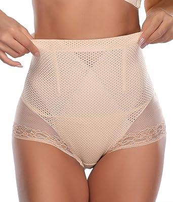 Control Pants Women High Waist Body Shaper Panties Seamless Tummy Belly Slimming Shapewear Girdle Lace