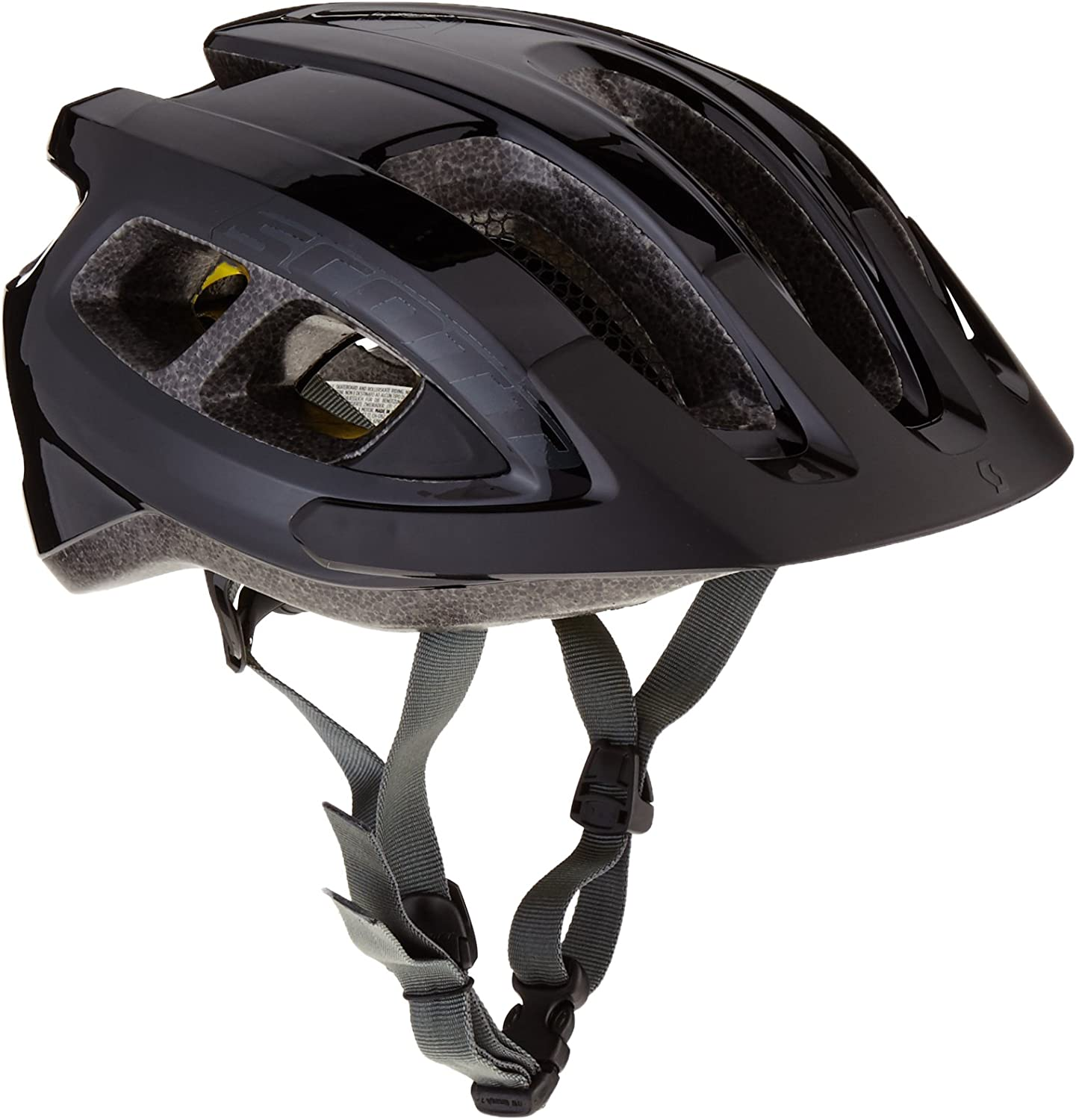 Scott Supra Plus - Casco de Ciclismo, Talla única, Color Negro ...