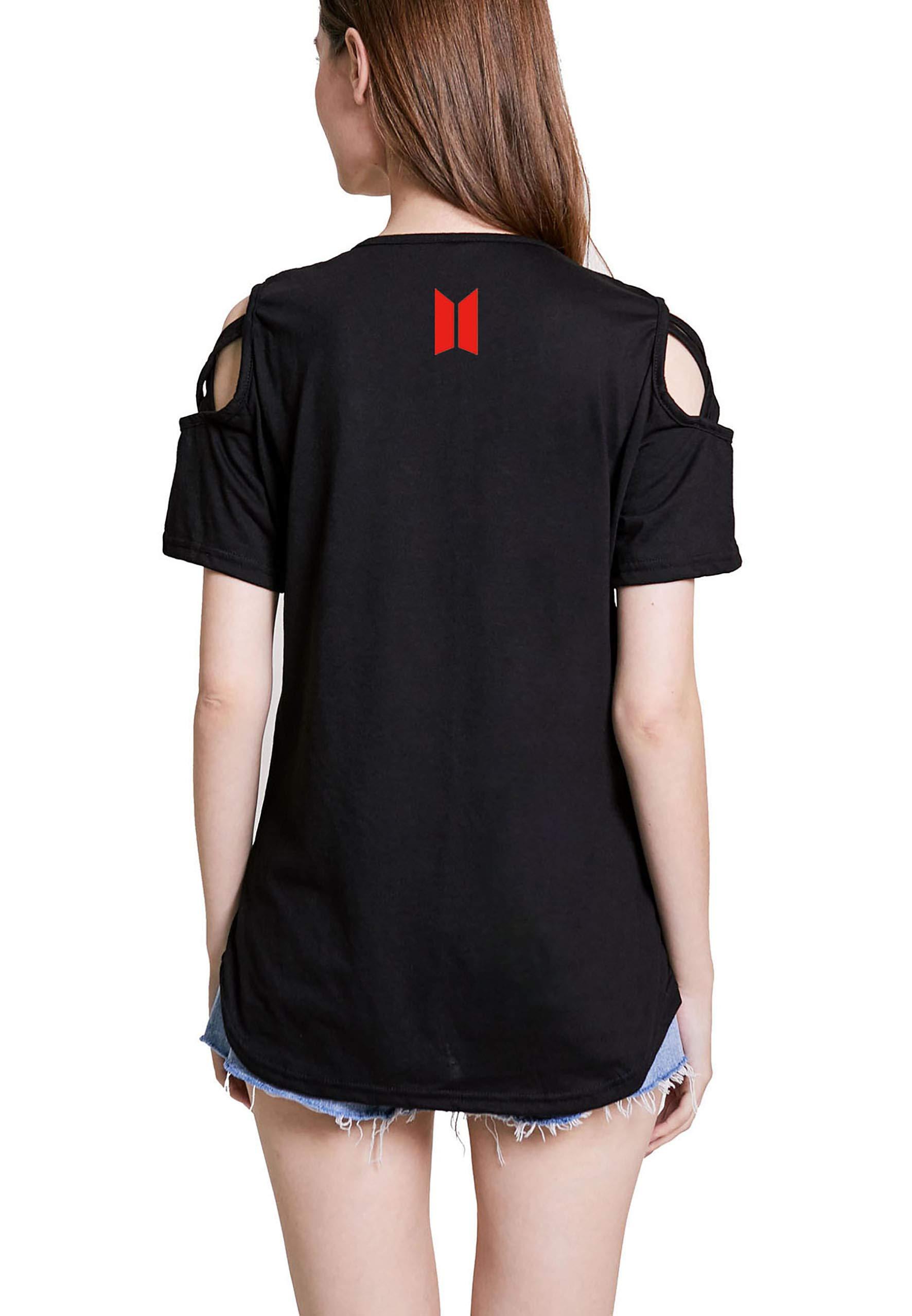 babyhealthy BTS World Tour Music Concert T-Shirt Jung Kook Jimin Suga V Jin Tee Shirt Tops