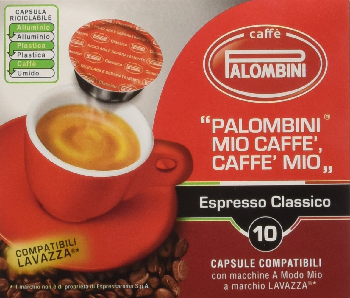 palombini caffe mio espresso classico - 10 capsule: amazon.it ... - Arredo Bagno Palombini