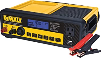 Amazon.com: DeWalt dxaec80 30 Amp Banco Cargador de batería ...