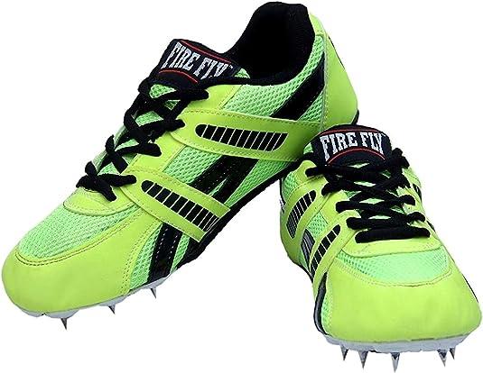 CW Firefly - Zapatillas de Running para Hombre (Acero Inoxidable), Color Verde: Amazon.es: Zapatos y complementos